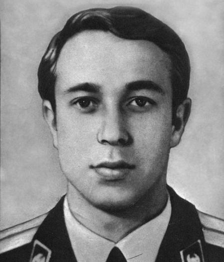 Владимир Правик, погибший при ликвидации последствий Чернобыльской катастрофы