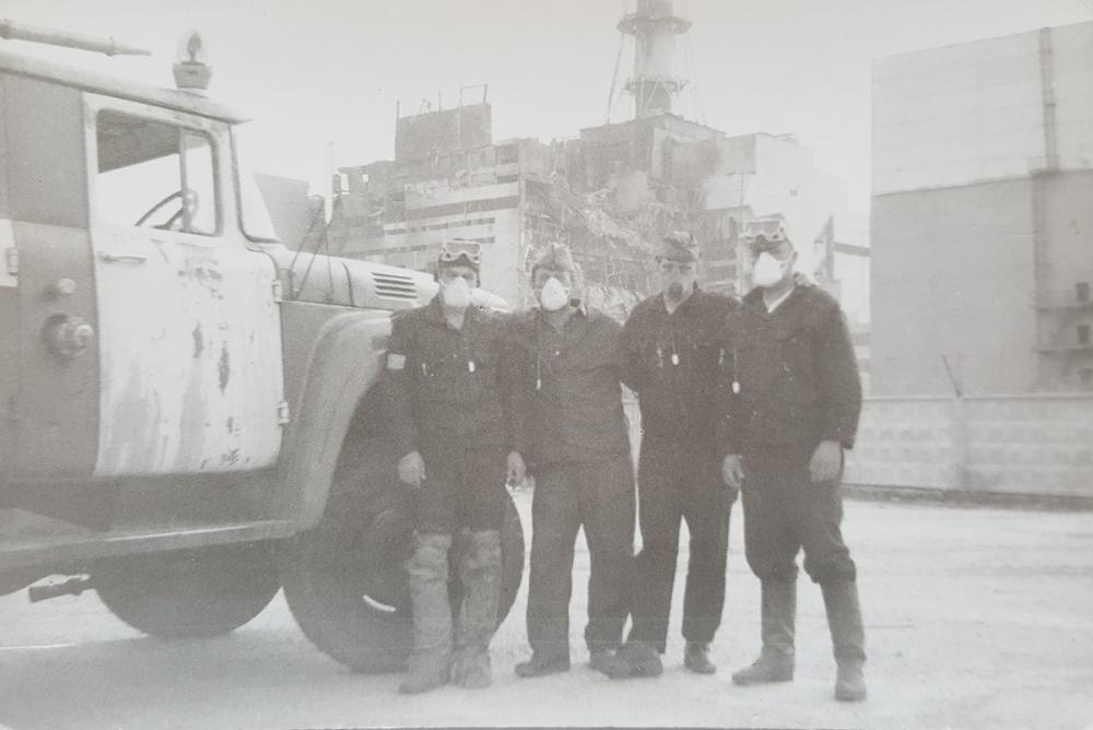 этот раз фото первых пожарных чернобыля огурца